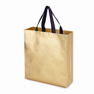Reusable Grocery Tote Non-woven Stylish Gift Goodies Bag for Party Event Wedding